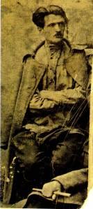 Ο Βασήλειος Καργαλάσεβ, πρόεδρος της Επαναστατικής Επιτροπής του χωριού Βαραντσόβκα της Αρμενίας (Αρχείο Ελληνισμού Μαύρης Θάλασσας)