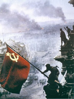 Η κόκκινη σημαία στο Βερολίνο