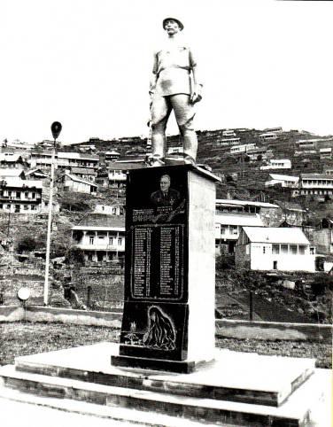 Μνημείο για τους Έλληνες πεσόντες στον Β' Παγκόσμιο Πόλεμο κατά του φασισμού