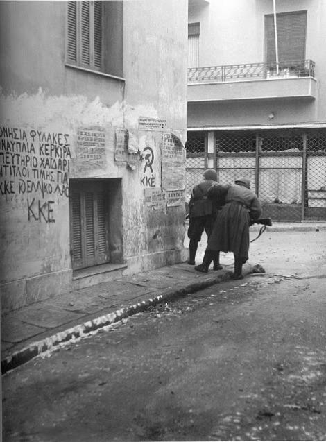 Από τις μάχες του Δεκέμβρη στους δρόμους της Αθήνας