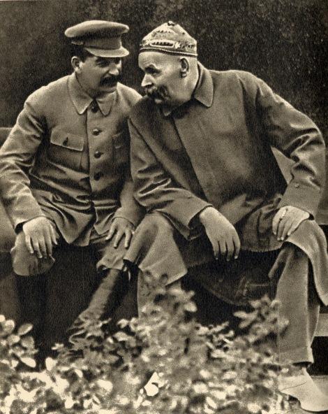 Ο Στάλιν με τον Γκόρκι (1931)